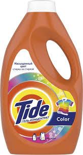 """<b>Гель</b> для <b>стирки Tide</b> """"Color"""", автомат, 1,235 л — купить в ..."""