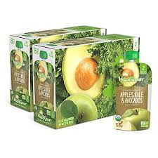 Happy Baby <b>Organic</b> Clearly Crafted Stage 2 <b>Baby Food Apples</b> ...