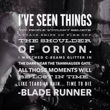 Film Typography on Pinterest | Blade Runner, Rain and Monologues via Relatably.com