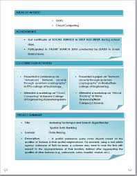 resume m tech fresher free resume samples for freshers