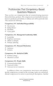201 knockout answers to tough interview questions classified american management association amanet org 30