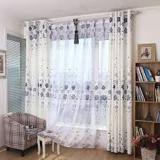 shabby chic floral print burlap gray beautiful living room curtains chic living room curtain