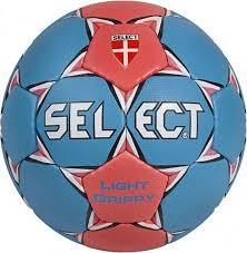 <b>Мяч гандбольный Select</b> Light Grippy 2008, синий, розовый ...