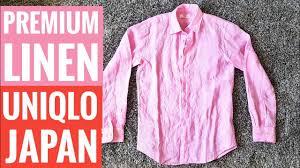 <b>Japanese</b> summer <b>fashion</b> | UNIQLO Premium Linen <b>long sleeve</b> ...