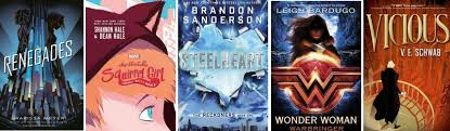 Book List – Young Adult Books About <b>Superheroes</b> | Springfield <b>City</b> ...
