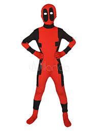 <b>Kids Deadpool Costume</b> Children Red Halloween Cosplay Suphero ...
