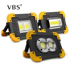 1 Pcs flood light <b>20w</b> DC5V 400 lm <b>USB</b> Charging 18650 ...