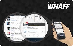 Cara Mendapatkan Uang $2 - $4 Sehari Melalui Aplikasi Whaff Rewards