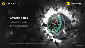 <b>Amazfit T</b>-<b>Rex Outdoor Smart</b> Watch - Gearbest.com - YouTube