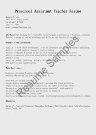 teacher assistant resume samples  seangarrette coteacher assistant resume samples