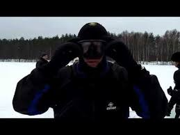 Заправляем маску под <b>шлем</b> гидрокостюма - YouTube