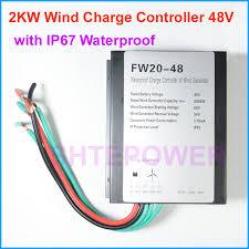 <b>1000W 1500W 2000W</b> Wind Generator Charge Controller <b>48V</b> 24V ...