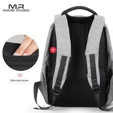 <b>Multifunction USB charging Men</b> 15inch Laptop Backpacks For ...
