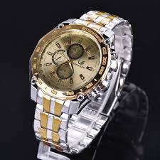 ONLINE - Men Wrist Watch <b>Fashion Stainless</b> Steel <b>Luxury</b> Sport ...