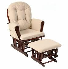 room ergonomic furniture chairs: wood rocker chair and ottoman feeding baby living room furniture modern ergonomic adult cushioned rocking chair