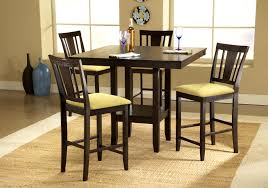 seven piece dining set: furniturefascinating seven piece counter height dining set upholstered stools sets wood room high end