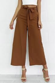 Купить Women's Fashion Elegant Loose Belted Wide Leg <b>Palazzo</b> ...