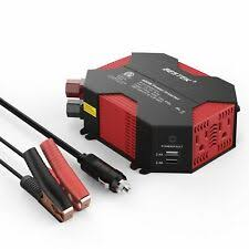 300w car inverter 12v to 220v converter peak power with 2 usb chargers