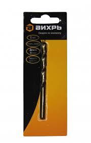 <b>Сверло</b> по <b>металлу ВИХРЬ</b> 6 мм, P6M5 — купить в интернет ...