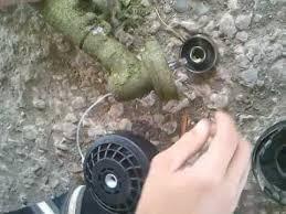 Как снять и поставить катушку на газонокосилку! - YouTube