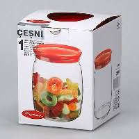 <b>Банка для продуктов Pasabahce</b> Cesni 0,94 л, цвет крышки ...