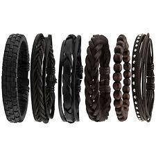 <b>Mens</b> Braided <b>Leather Bracelet</b> for sale   eBay