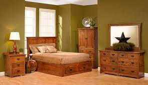 bedroom designer furniture feature forest green wall design with light wood laminate flooring and three drawer bedroom set light wood light