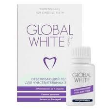 «<b>Global White гель</b> для <b>отбеливания</b> чувствительных зубов 3 ...