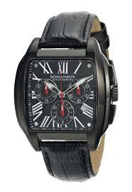 <b>Мужские часы ROMANSON</b> TL1273HM1BA37W-K (<b>TL1273HMB BK</b>)