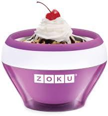 "<b>Мороженица</b> Zoku ""<b>Ice Cream Maker</b>"", цвет: фиолетовый, 150 мл ..."