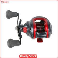 QG【NEW COD】<b>Fishing Reel</b> Low-Profile Reel Metal Spool ...