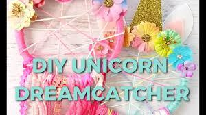 DIY <b>UNICORN DREAMCATCHER</b> - YouTube