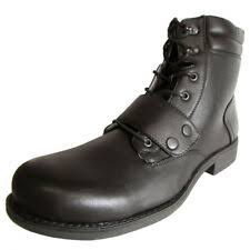 Motorcycle Lace Up Synthetic Boots for Men | eBay