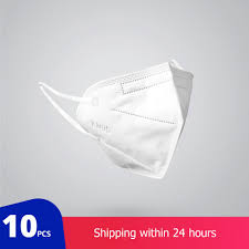 <b>10 Pcs KN95</b> Dustproof Anti-fog Breathable <b>Face</b> Masks 95 ...
