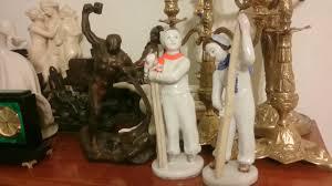 Антиквариат <b>фарфоровые</b> статуэтки СССР, Германия... бронза ...