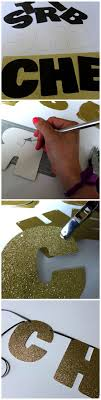 how to make a glitter party sign tutorial and printable how to make a glitter party sign tutorial and printable easy glam diy