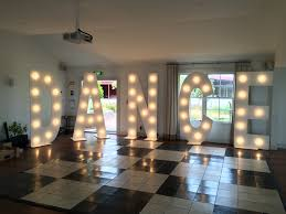 dance standing m marquee letter lights maree co dance light letters abbeville