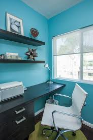 contemporary blue home office blue home offices
