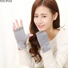 2019 <b>2017 New Women</b> Fashion Lovely Knitted Fingerless <b>Gloves</b> ...