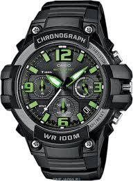 <b>Часы Casio MCW</b>-<b>100H</b>-3A / <b>MCW</b>-<b>100H</b>-3AVEF — купить <b>мужские</b> ...