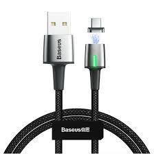 Магнитный кабель USB - USB Type-C 1м <b>Baseus Zinc Magnetic</b> ...