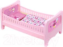 <b>Zapf Creation Baby</b> Born Кроватка (824399) Аксессуар для <b>куклы</b> ...