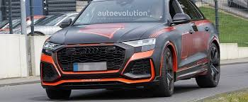 <b>Audi</b> RS Q8 Debuts Crazy Matte <b>Black</b> and <b>Red</b> Camo, Looks Ready ...