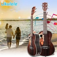 <b>21 Inch</b> Four Strings Rosewood Ukulele Guitar With Grape Shape ...