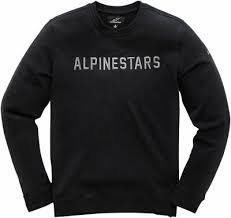 <b>Alpinestars</b> расстояние пуловере <b>толстовка</b> (черный) XL (X-Large ...
