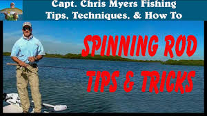 Casting A <b>Spinning</b> Rod - <b>Fishing</b> Tips and Techniques - YouTube