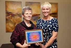 alumni and friends awards university of wisconsin platteville ellen j schwartz recipient of the 2014 professional achievement award is pictured