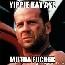 bruce willis meme | Birthday Twin | Pinterest | Bruce Willis, Rave ... via Relatably.com