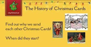The History of Christmas Cards -- Christmas Customs and Traditions ...