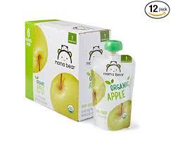 Amazon Brand - Mama Bear <b>Organic Baby Food</b>, <b>Stage</b> 1, Apple, 4 ...
